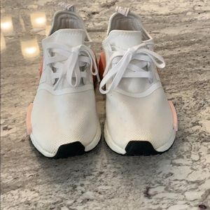 adidas Shoes - Very Rare! White and Pink NMD R1